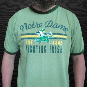 🔥VTG 90's Notre Dame Irish Ringer Tshirt🔥